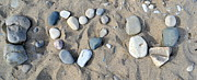 Pebble Photo Originals - I LoveU Pebbles by Dyana Rzentkowski