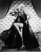 Black Lace Photos - I Married A Woman, Diana Dors, 1958 by Everett