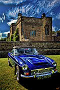Stately Home Posters - I Parked Out By The Garden Wall Mother Dear Poster by Chris Lord