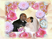 African Americans Digital Art Prints - I Pronounce You Husband and Wife Print by Terry Wallace