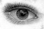 Hyper-realism Drawings - I see you by Just Joszie