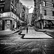 China Town Photo Metal Prints - I stand witness Metal Print by John Farnan