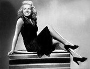 Grable Metal Prints - I Wake Up Screaming, Betty Grable, 1941 Metal Print by Everett