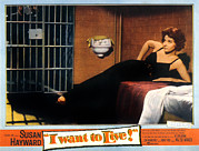Prisoner Posters - I Want To Live, Susan Hayward, 1958 Poster by Everett