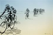 I Want Framed Prints - I Want to Ride my Bicycle Framed Print by Bill Cannon