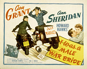 Films By Howard Hawks Posters - I Was A Male War Bride, Cary Grant, Ann Poster by Everett