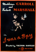 Secret Agent Framed Prints - I Was A Spy, Herbert Marshall Framed Print by Everett