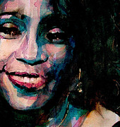 Pop Icon Paintings - I will always Love you by Paul Lovering