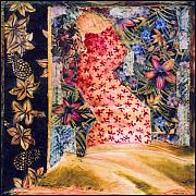 Female Tapestries - Textiles - Ia-jo Island I by Leslie Marcus