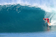 Wave Art - Ian Walsh at Backdoor by Paul Topp