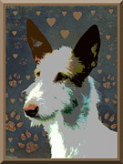Ibizan Hound Print by One Rude Dawg Orcutt