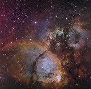 Cassiopeia Constellation Prints - Ic 1795, A Portion Of The Heart Nebula Print by Don Goldman
