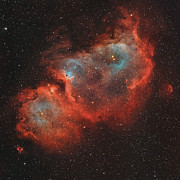 Starforming Prints - Ic 1848, The Soul Nebula Print by Rolf Geissinger