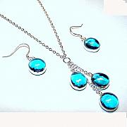 Romance Jewelry - Ice Blue Romance by Kelly DuPrat