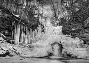 Reynolds Photo Metal Prints - Ice Castle Metal Print by Lori Deiter
