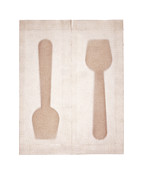 Y120831 Art - Ice Cream Spoons In Packets by Peter Dazeley