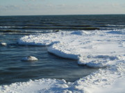 Sharon Steinhaus - Ice Flows in Lake Ontario