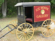 Florida House Photo Originals - Ice House Gallery Coach by Warren Thompson
