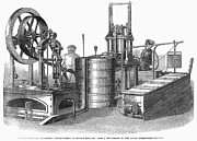 Making Posters - Ice-making Machine, 1862 Poster by Granger