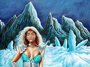 Dream Scape Prints - Ice Queen Print by Zoran Peshich