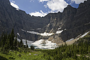 Many Glacier Framed Prints - Iceberg Lake And Melting Many Glacier Framed Print by Sebastian Kennerknecht