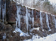 Nature Icicle Prints - Icicle Wall Print by CGHepburn Scenic Photos