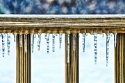 Icicles Print by HD Connelly