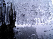 Nature Icicle Prints - Icicles Print by Sami Tiainen