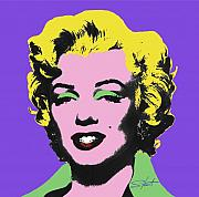 Marilyn Prints - Icon 2 Print by Charles Stuart