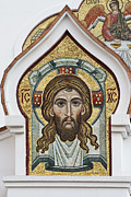 Jesus Christ Icon Prints - Icon Print by Igor Sinitsyn