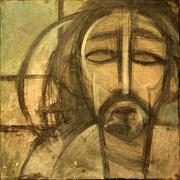 Jesus Christ Icon Originals - Icon Number 6 by Tim Nyberg