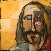 Jesus Christ Icon Originals - Icon Number Four by Tim Nyberg