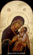Orthodox Painting Originals - Icon by Sorin Apostolescu
