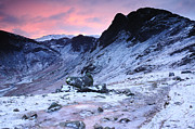 Wainwrights Framed Prints - Icy Dawn Haystacks Framed Print by Stewart Smith