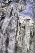Winter Scenes Photos - Icy Falls 1 by Emily Stauring