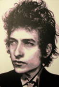 Highway 61 Revisited Painting Originals - Id let you be in my dreams if I can be in yours I said that by Luis Ludzska