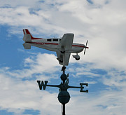 Weather Vane Prints - Id Rather Be Flying Print by Bill Cannon