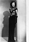 Full-length Portrait Metal Prints - Ida Lupino, 1945 Metal Print by Everett