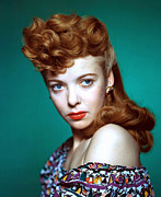 1940s Hairstyles Photos - Ida Lupino, Ca. 1940s by Everett