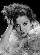 Ostrich Feathers Photo Prints - Ida Lupino, Paramount Pictures Photo Print by Everett