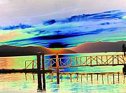 Sandpoint Prints - Idaho Lake Print by Peter  McIntosh