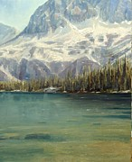 Salmon River Idaho Paintings - Idahos Sawtooth Wilderness by Tom Siebert