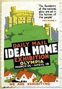 Daily Mail Posters - Ideal Home Exhibition Stamp, 1920 Poster by Cci Archives