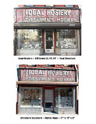Commercial Archeology Sculptures - Ideal Hosiery - New York Storefront Sculpture - Randy Hage by Randy Hage