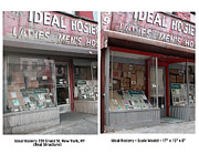 Bakery Sculptures - Ideal Hosiery New York Store Front by Randy Hage