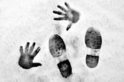 Footprints Pyrography - Identity by Nicci Gelnar