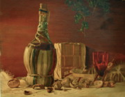Winery Paintings - Idle Hour by Anthony Bonagura