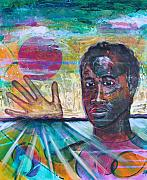 African-american Paintings - If I... by Rollin Kocsis