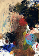 Abstracts Paintings - If Tomorrow Never Comes by Michel  Keck
