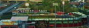 Baseball Fields Framed Prints - If You Build It They Will Come Framed Print by Georgiana Barton